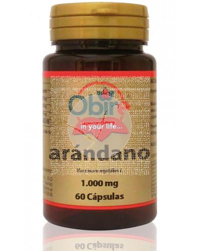 Arandano Negro capsulas 1000Mg Obire