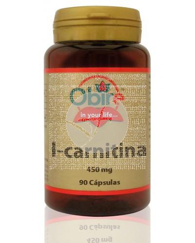 L-Carnitina capsulas 450Mg Obire
