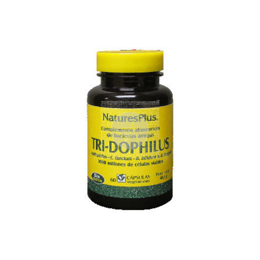Tridophilus Regulador Intestinal 60 capsulas Nature'S Plus