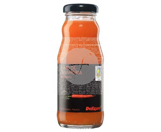 Zumo Zanahoria Bio 200ml Delizum