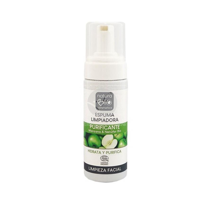 Espuma limpiadora purificante biológico 150 ml Naturabio Cosmetics