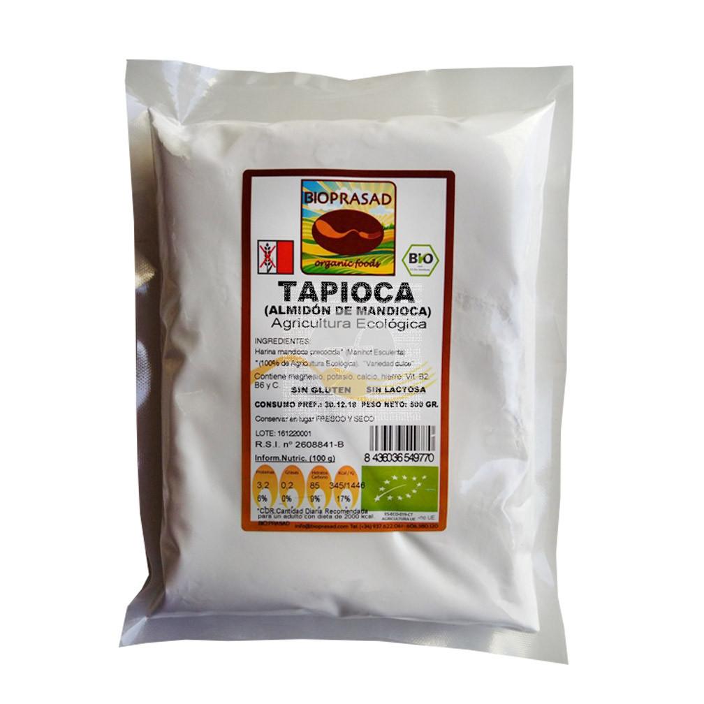 Harina De Mandioca Tapioca Bio sin gluten Bioprasad