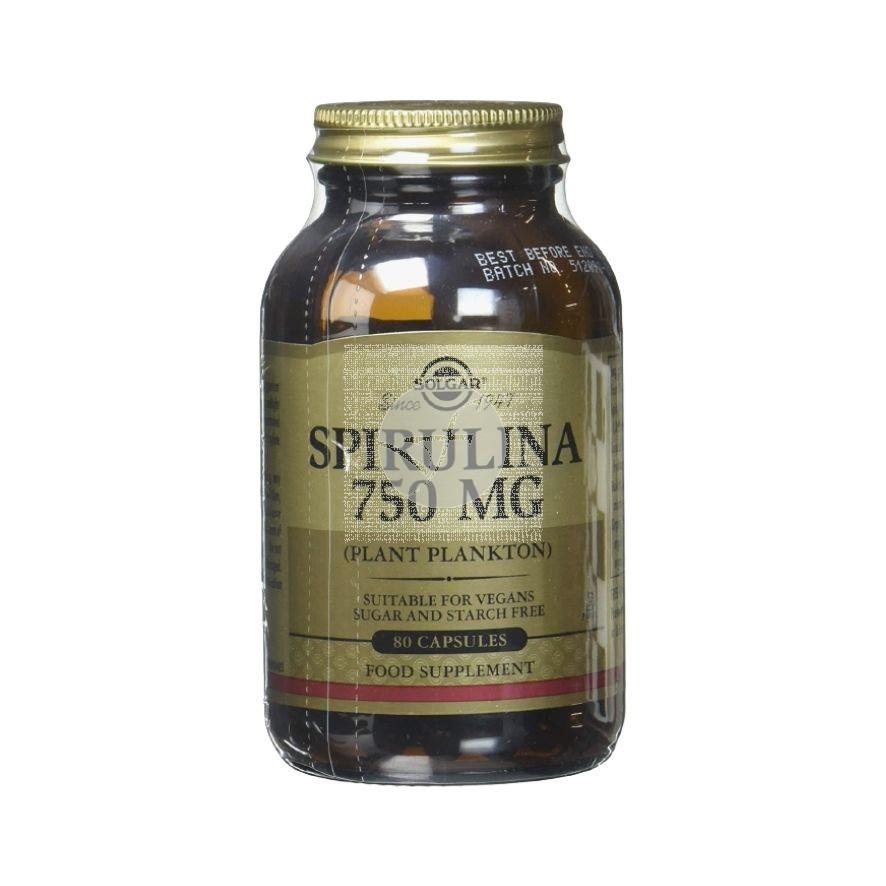 Espirulina comprimidos 750Mg Solgar