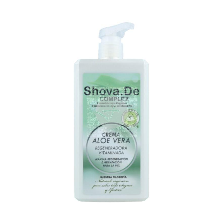 Crema Corporal Aloe Vera Vitaminada 1L Shova De