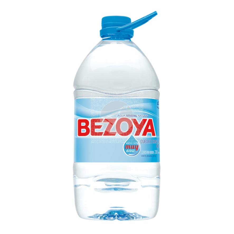 Agua Mineral Garrafa 5L Bezoya