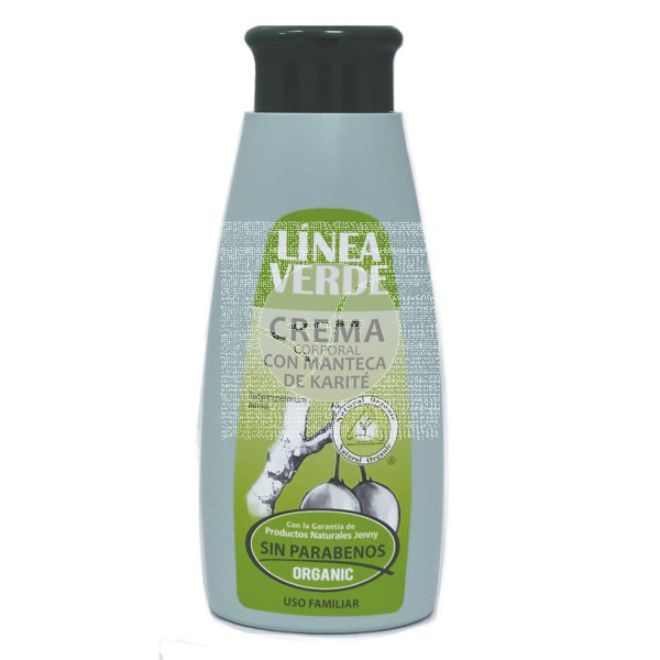 Leche corporal con Manteca Karite Organic Linea verde