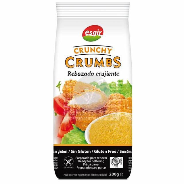 Crunchy Crumbs Rebozado Crujiente sin gluten 200Gr Esgir