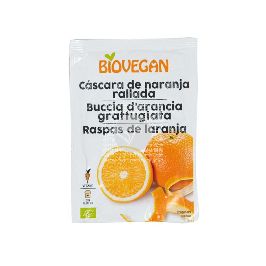 Cascara De Naranja Liofilizada Bio Vegano Biovegan