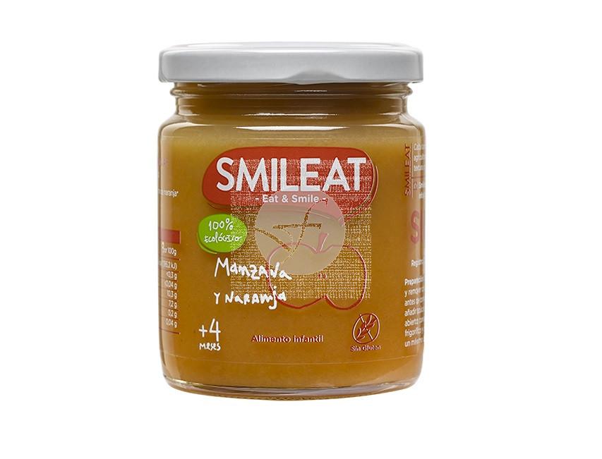 Potito Manzana y Naranja Eco 4M Smileat