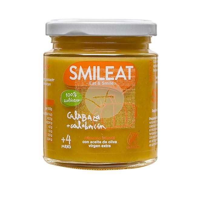 Potito Calabaza y Calabacín +4M Eco Smileat