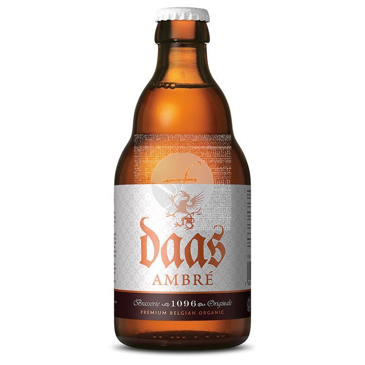 Cerveza Ambré Bio sin gluten Daas