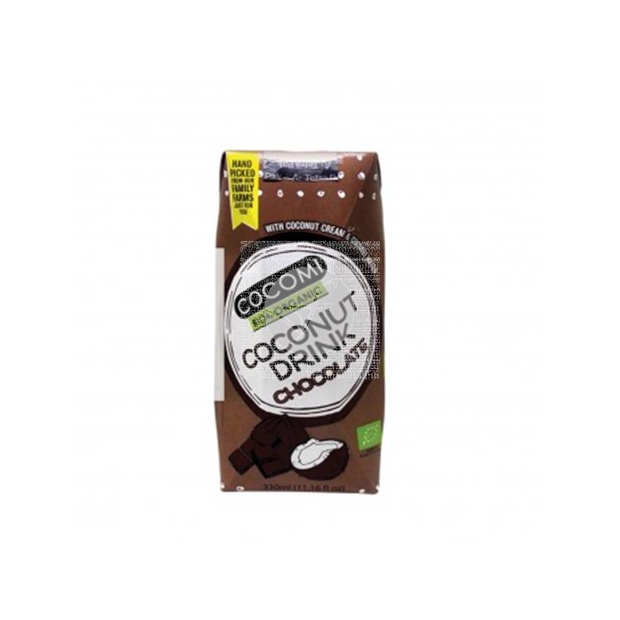 Bebida Vegetal de Coco Chocolate Eco 330ml Cocomi