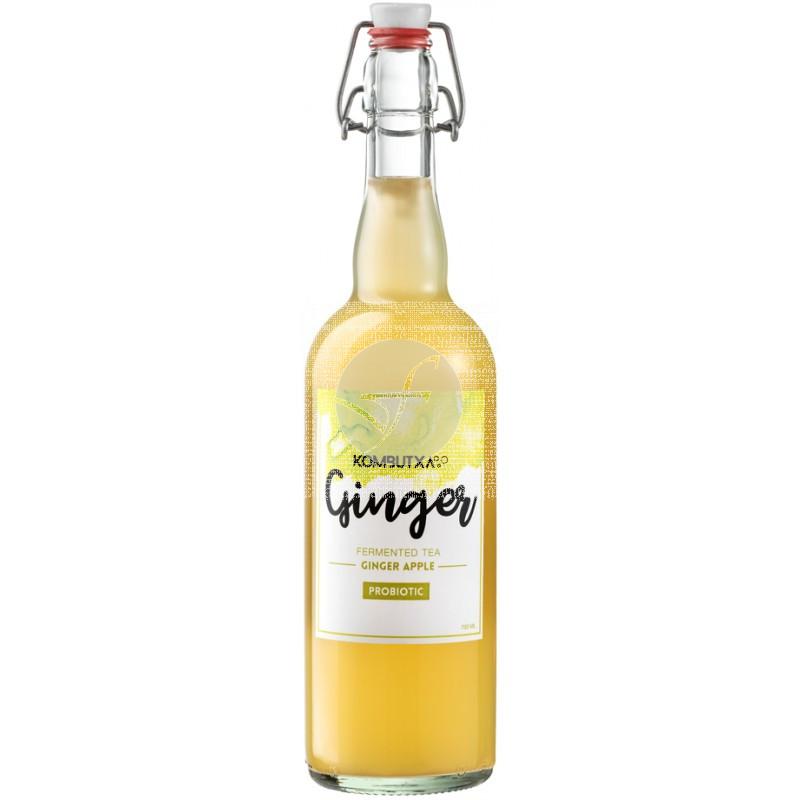 Te Kombucha Ginger Manzana y Jengibre Bio 750ml Kombutxa