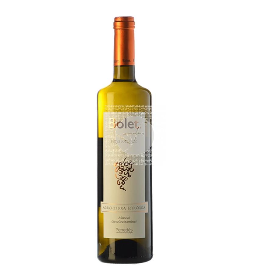 Vino Blanco Muscat y Gewürztraminer Bio Bolet