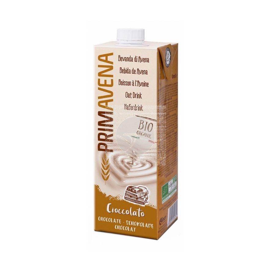 Bebida Avena Chocolate Bio 1lt Primavena