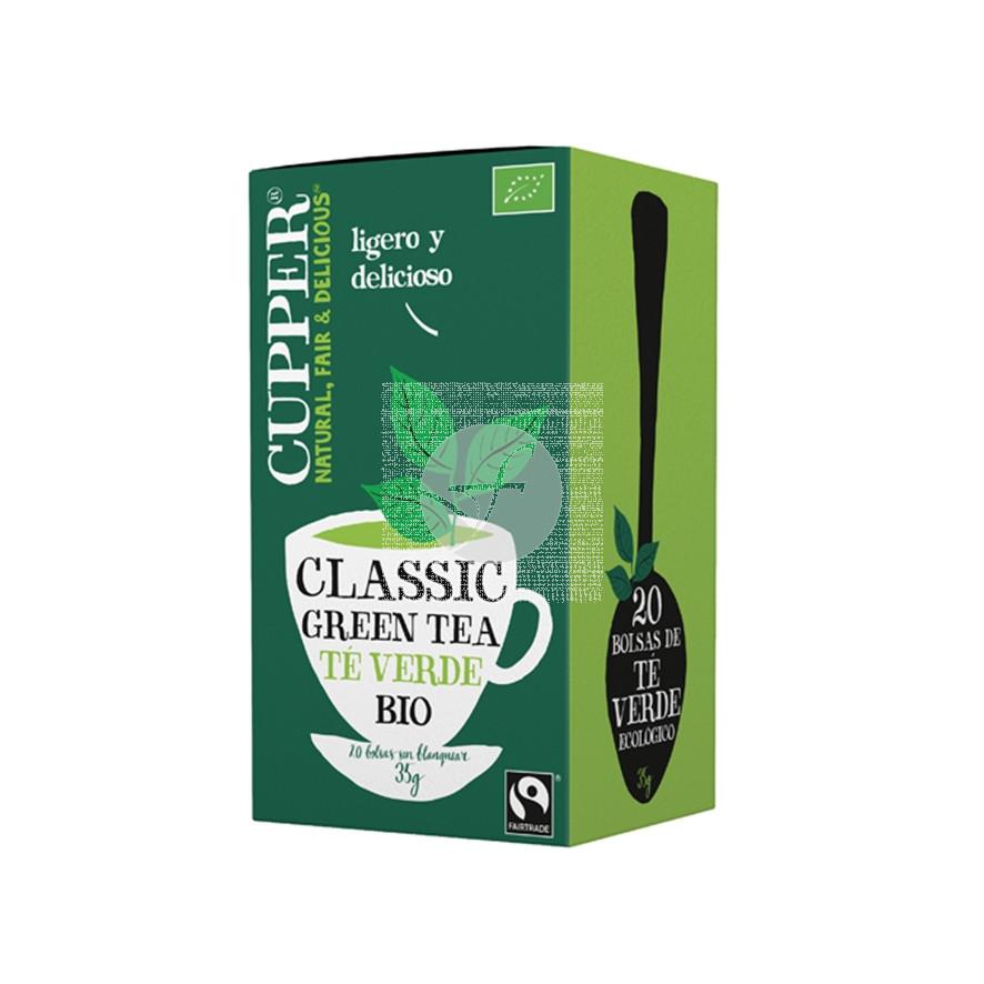 Te verde Bio Comercio Justo 20 Bolsitas Cupper