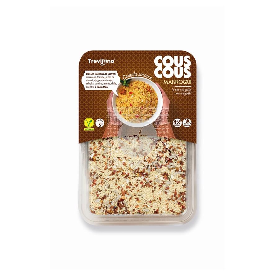 Cous cous MarroquÍ Vegano 300 gr Trevijano
