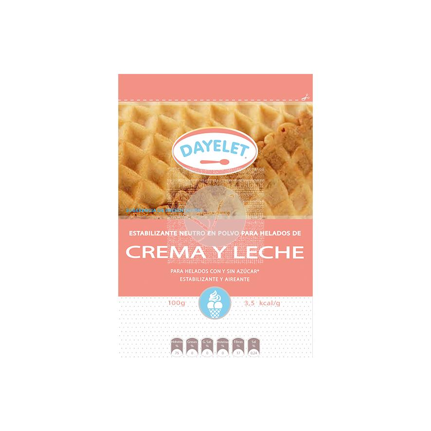 Estabilizante helados crema sin gluten 100gr Dayelet