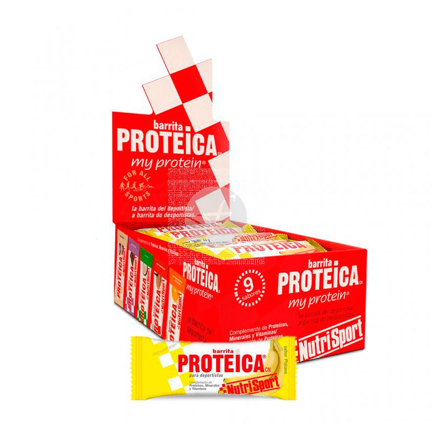 Barrita Proteica Platano NutriSport