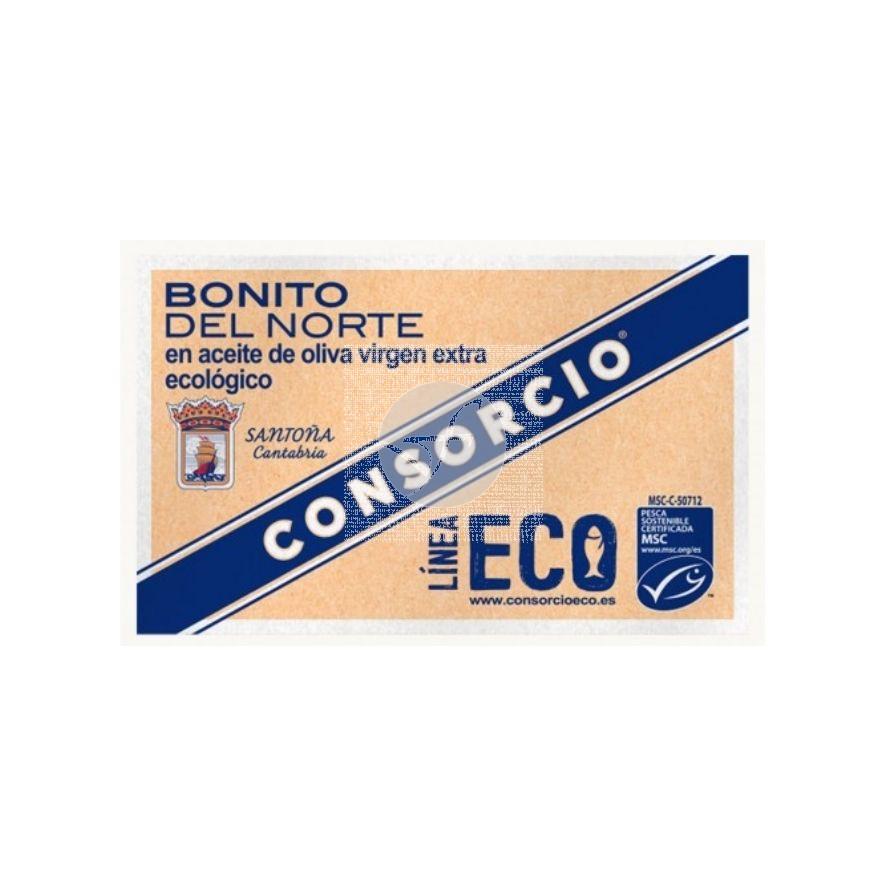 Bonito del Norte en Aceite Oliva Virgen Extra Lata Eco 111gr Consorcio