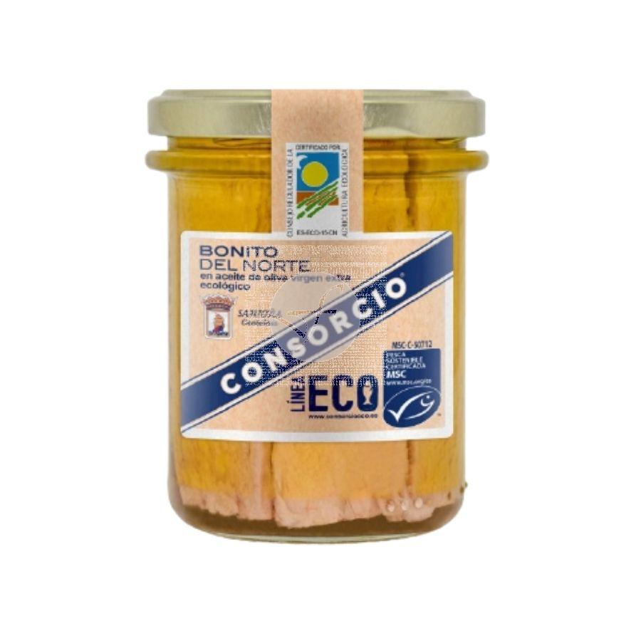Bonito del Norte en Aceite de Oliva Eco 185gr Consorcio