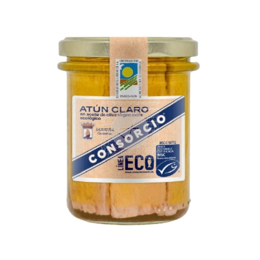 Atun Claro en Aceite de Oliva Eco 185 gr Consorcio