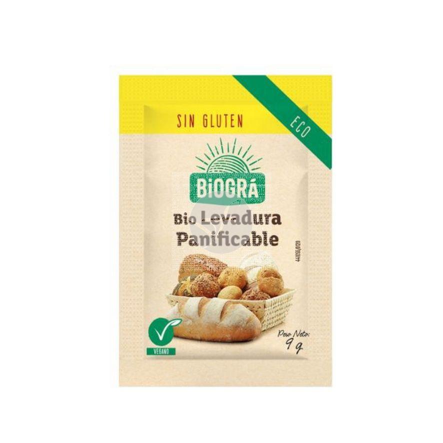 Levadura Panificable Bio sin gluten Biográ Biogra