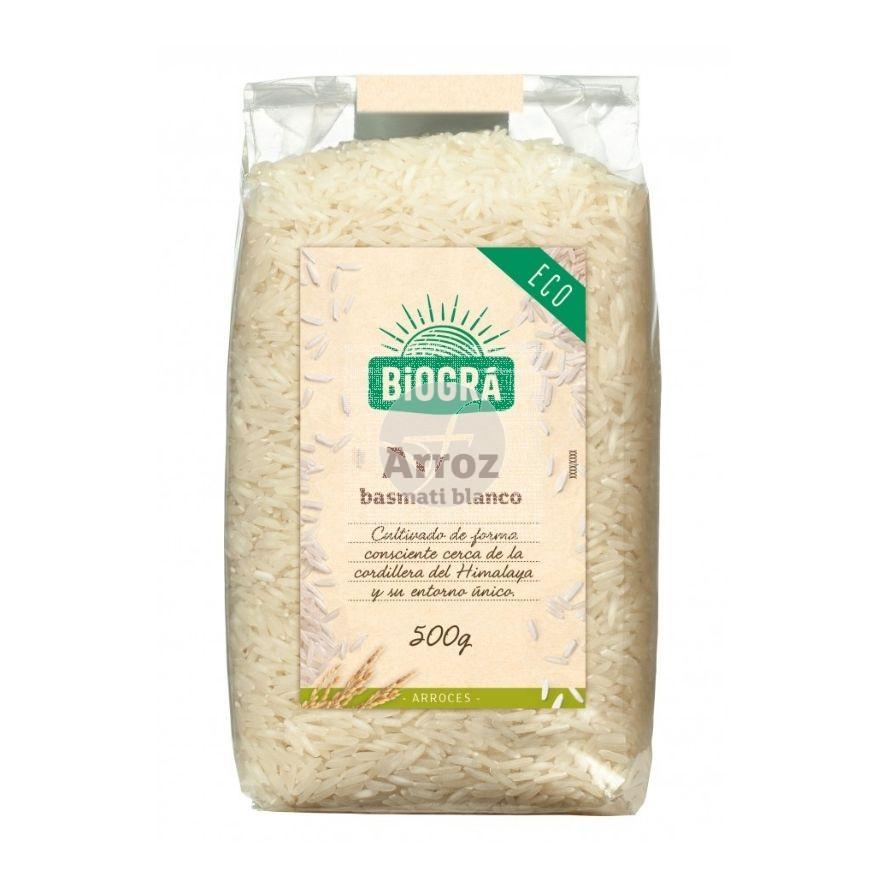Arroz Basmati Blanco Biogra