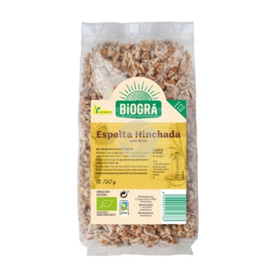 Cereales De Espelta Hinchada con Miel Bio 150G Biogra