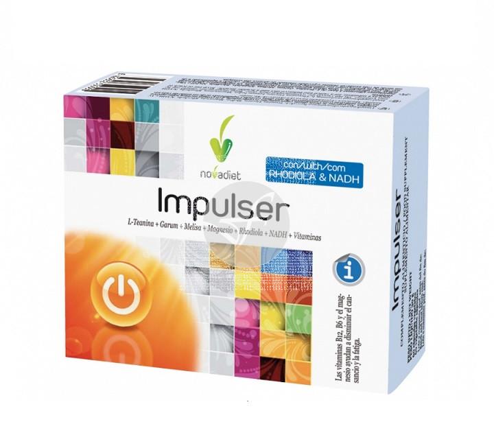 Impulser 60 capsulas Nova Diet