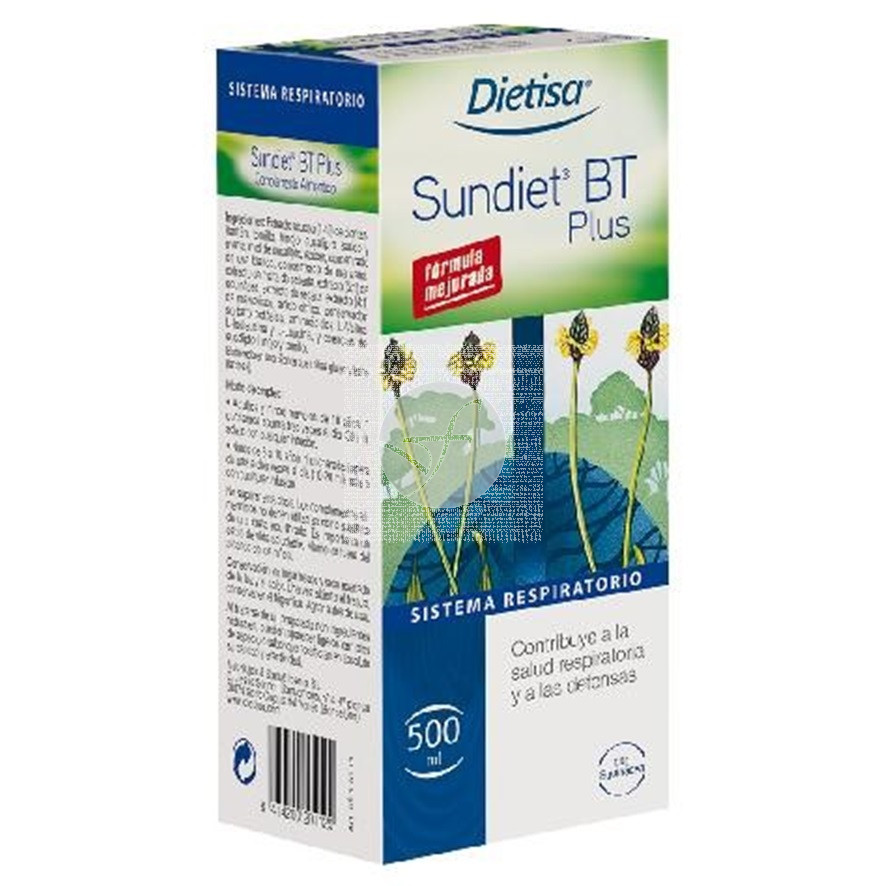 Sundiet Bt Plus Jarabe 500ml Dietisa