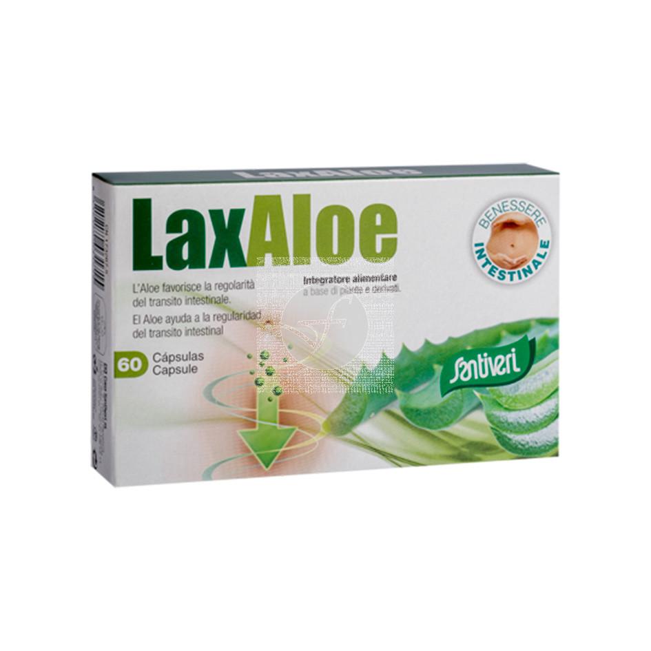 Laxaloe 200Mg 60Cap Santiveri