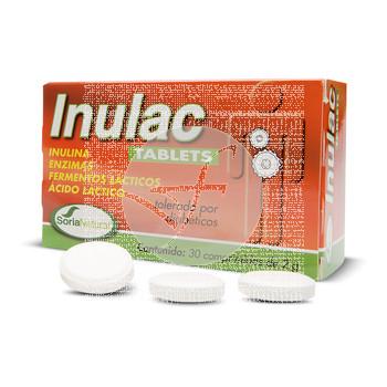 Inulac 30 comprimidos Soria Natural