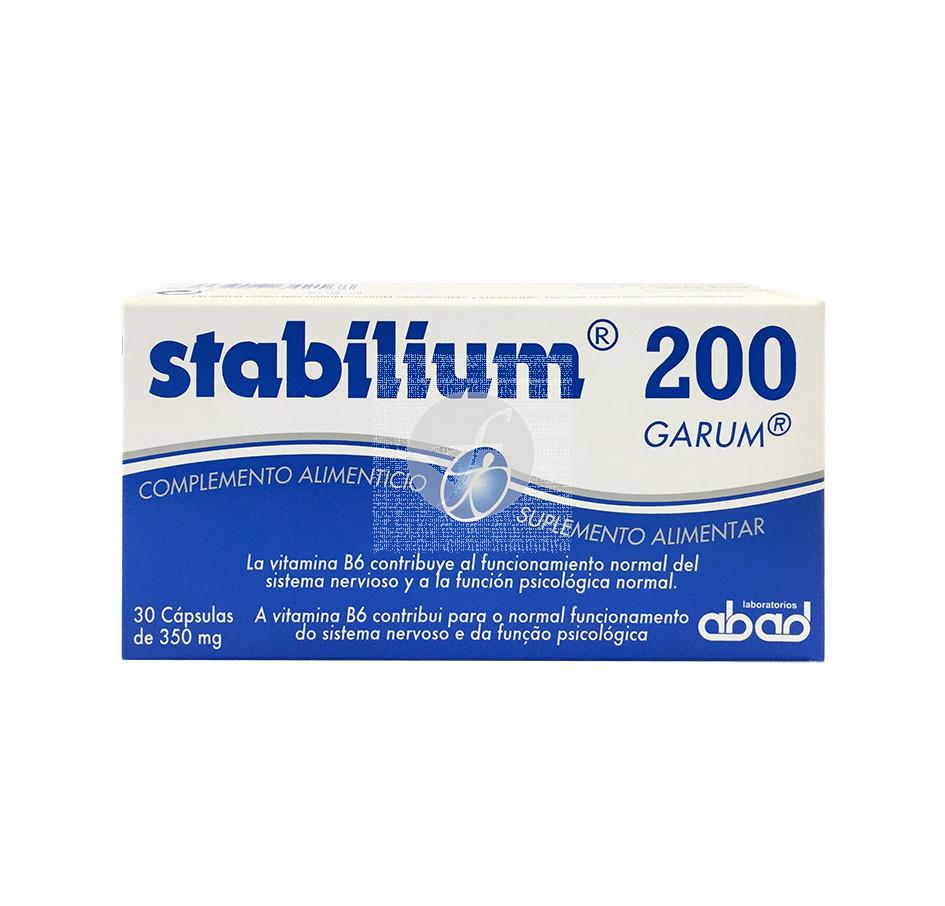 Stabilium Cansancio y Estrés 30 capsulas Abad