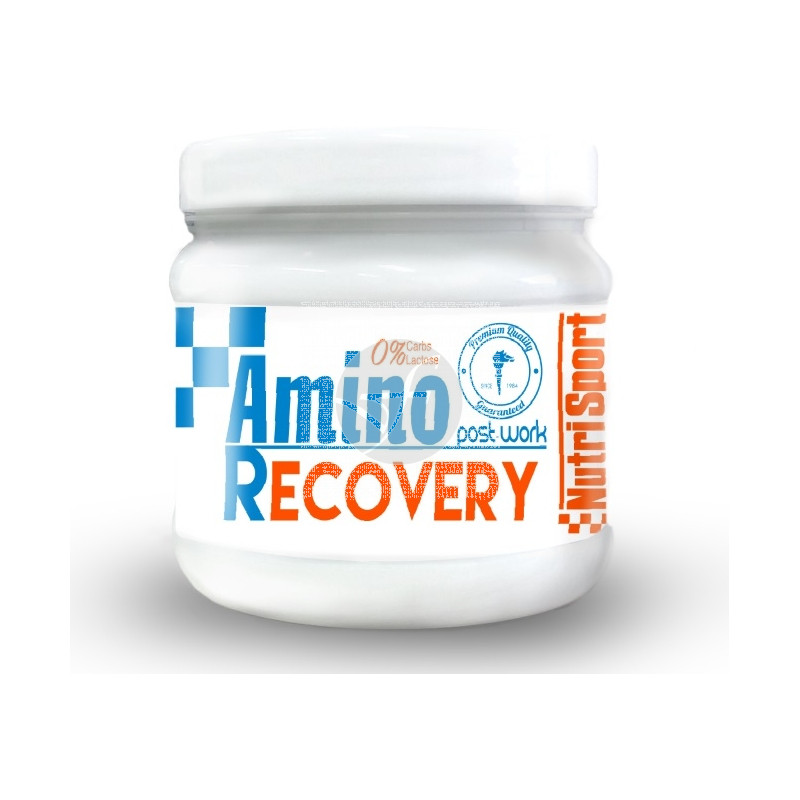 AMINO RECOVERY 0% CARBOHIDRATOS 0% LACTOSA NUTRI-SPORT