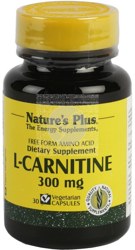 L-Carnitina 300Mg Nature'S Plus
