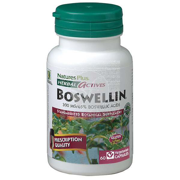 BOSWELLIN 300MG 60 CAPSULAS NATURE'S PLUS