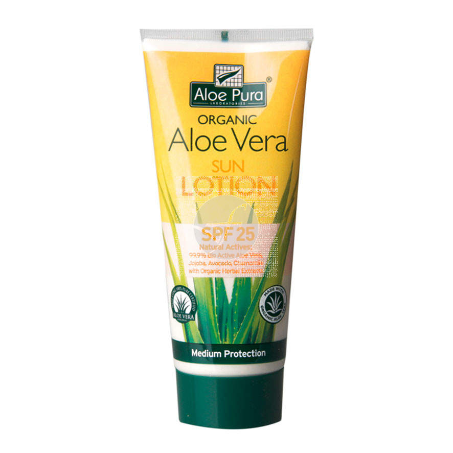 Crema Solar corporal Spf 25 Aloe Pura