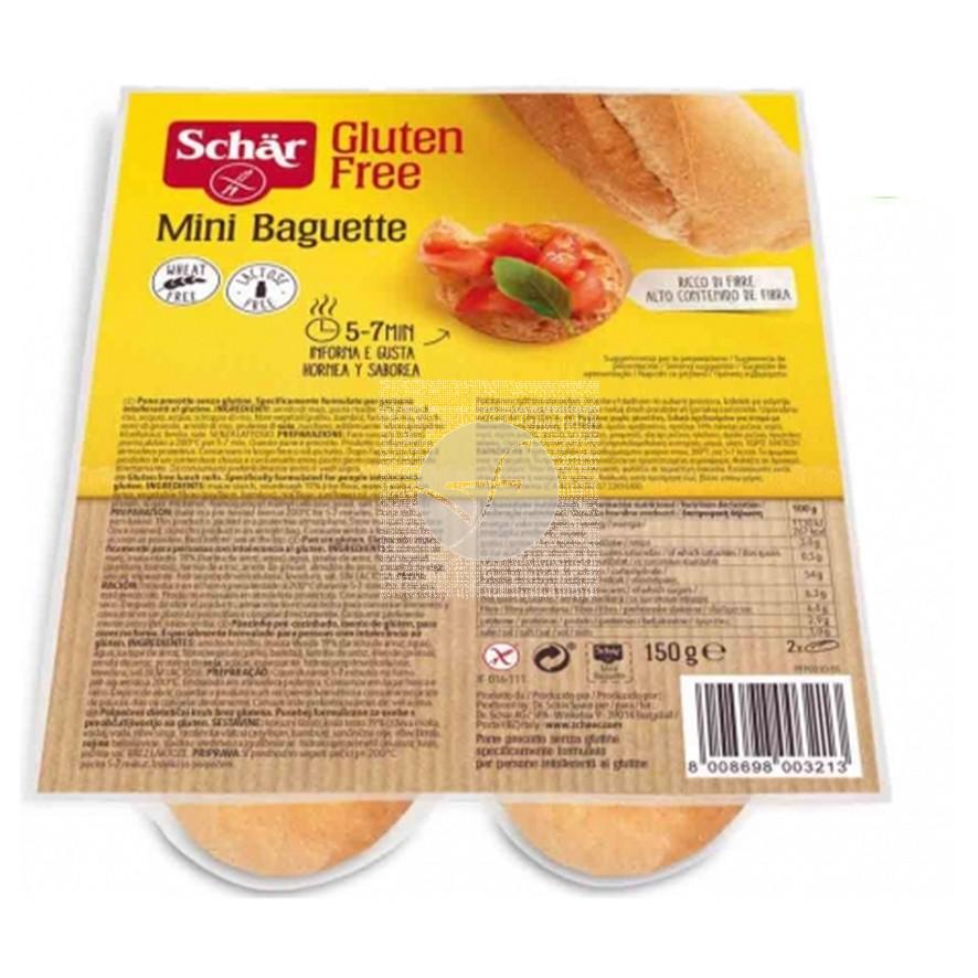 Mini Baguette sin gluten 150Gr Dr. Schar