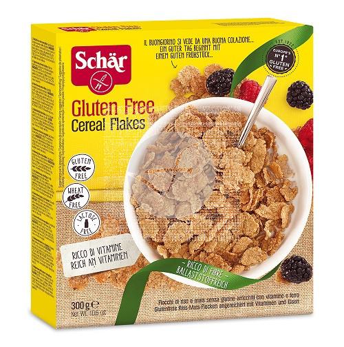 Cereales Flakes Fibra sin gluten Schar Dr. Schar