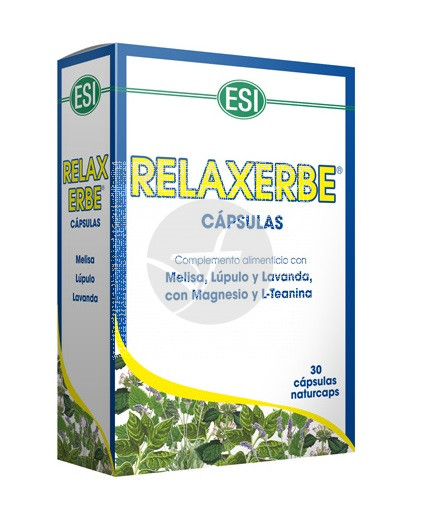 Relaxerbe 30 cápsulas Trepat-Diet