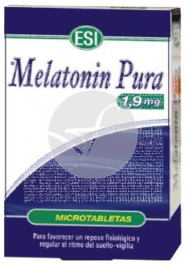 MELATONINA PURA 1,9MG 60 COMPRIMIDOS TREPAT DIET