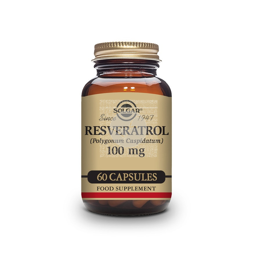 Resveratrol 100mg 60 cápsulas Solgar