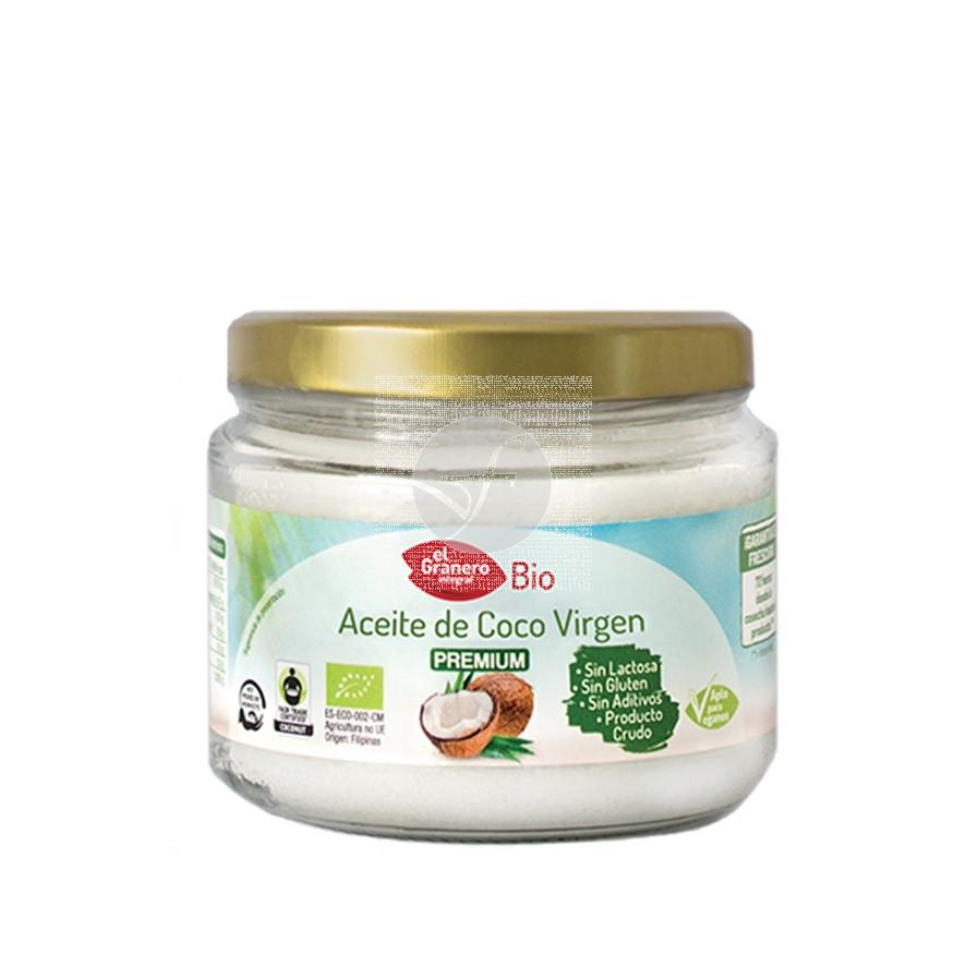 Aceite de coco virgen premium bio 250ml Granero Integral