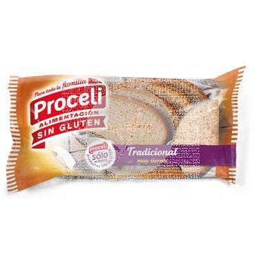 Pan tradicional rustica sin gluten Proceli