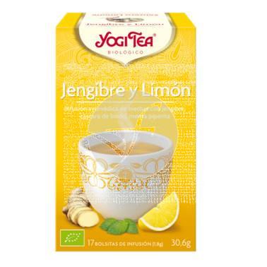 Jengibre y limón infusión Bio Yogi Tea