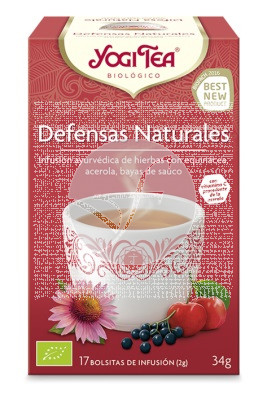 TE DEFENSAS NATURALES BIO YOGI TEA