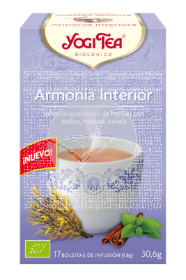 Armonia Interior Infusion Bio Yogi Tea