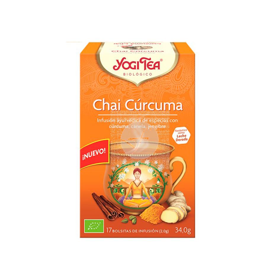 Té Chai cúrcuma bio Yogi Tea