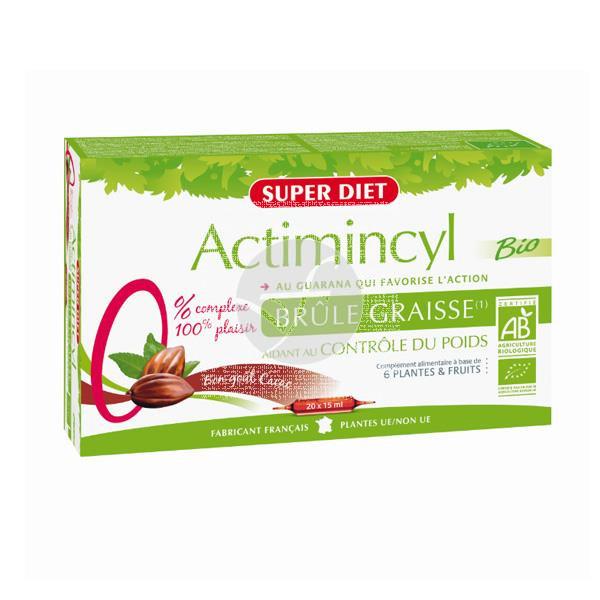 ACTIMINCYL MONODOSIS 10X10ML SUPER DIET